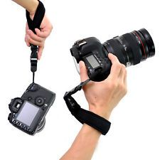 Camera Hand Grip For Canon EOS Nikon Sony Olympus SLR/DSLR Cloth Wrist Strap PB