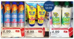 Last Chance! Banana Boat Lotion, Only $0.99 at Target!