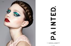 Artful Cosmetic Closeups - The Painted Exclusive for The Ones 2 Watch Celebrates Bold Makeup Looks (GALLERY)