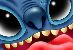 Stitch Close Up by RCBrock.deviantart.com