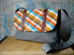 Pocatello crossbody messenger bag by atlaspast on Etsy,sold out