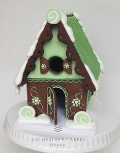 Catherine's Cakery | gingerbread house