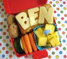 BentoLunch.net - What's for lunch at our house: National Grilled Cheese Day Bento!