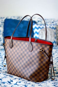 Louis Vuitton Damier Ebene Neverfull MM Tote Shoulder Bag US $649.00 From $32 for 24 months* http://ebay.to/2jmvhLp