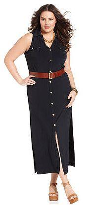 Michael Kors Plus Size Dress