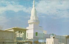 Masjid e qhiblatein.It is situated in Madinah.In second year of hijrah Allah ordered prophet mohammed pbuh to change the qiblah from bait ul muqaddas to mecca (masjid ul haram).