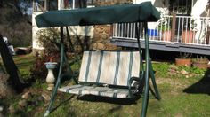 Replacement Canopy And Seating Slipcover For Two Seat Swing