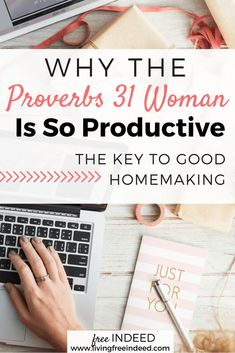 The P31 woman is not godly because she is productive, but productive because she is godly. Her God-fearing attitude leads her actions into excellence.