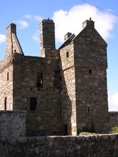 Carsluith Castle is a ruined tower house, dating largely to the 16th century on the Galloway coast of south-west Scotland.