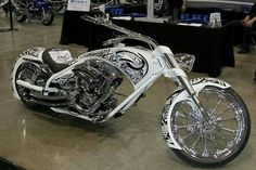 Inferno check out this bike. Custom Choppers, Custom Harleys, Custom Motorcycles, Custom Bikes, Cars And Motorcycles, Biker Quotes, Motorcycle Art, Hot Bikes, Biker Chick
