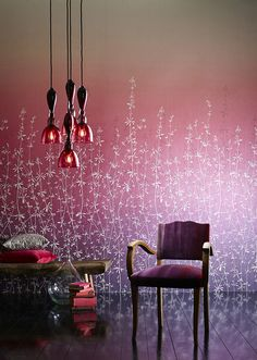 For #Callista, which means 'most beautiful' in Ancient #Greek, #Harlequin has created an enticing and entrancing collection of wallpaper. Wallcovering from Callista