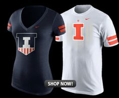 New #Illini women's Nike gear featuring the new block I and Victory Badge logo. http://fightingillini.cbscollegestore.com/store.cfm?store_id=180&dept_id=-2&sort=0