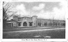 Camp Merritt-New Jersey  over 1 million men left from this camp to fight during WW I