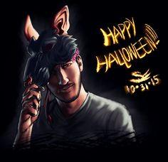 Happy Halloween 2K15! | Markiplier by SimplEagle on DeviantArt
