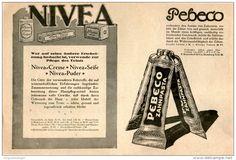 Original-Werbung/Inserat/ Anzeige 1914 - BEIERSDORF / NIVEA / PEBECO - ca. 210 X 140 mm