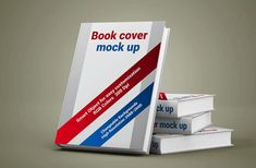 Free Book Cover Mockup PSD to display your books. Just add your own custom design inside the smart object and you are done. Mockup Design, Display Mockup, Free Mockup Templates, Brochure Cover, Photoshop, Book Cover Design, Graphic Design, Graphic Art, Designers