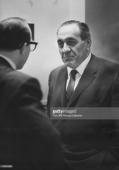 Tony Accardo gangster on trial for income tax evasion News Photo | Getty Images
