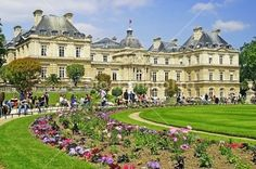 Jardin luxembourg Paris France... absolutely beautiful