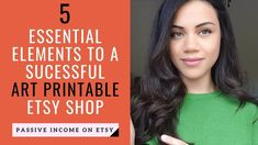 How to Make Money Selling Printables on Etsy | 5 Key Elements To A Succe...