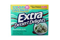 Mint Chocolate Chip Extra Dessert Delights Gum