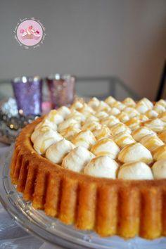 Gateau renversé aux pommes et chantilly caramel beurre salé No Cook Desserts, No Cook Meals, Sweet Recipes, Cake Recipes, Gateau Cake, Creme, Cake Decorating, Food And Drink, Sweets