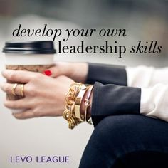 These tips for developing your leadership skills are spot on and motivating. (Image: Develop Your Own Leadership Skills; arms wresting on knees, hands holding a cup of coffee) Leadership Development, Professional Development, Nespresso, Wendy's Lookbook, Working Woman, At Least, Cute Outfits, Jewels, My Love