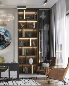 Портфолио: Дизайнерский загородный дом в Пензе