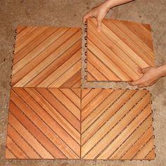 Balcony Wood Tiles