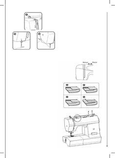 Manual - Elgin Genius Plus JX 4035 Máquina de costura Maquina Elgin Genius, Math, Manualidades, Math Resources, Mathematics