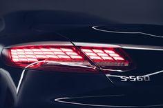 "Třída S kupé a její obvykle svůdné ""já"". Mercedes Benz, Mercedes S Class, Amg C63, Benz S Class, Cabriolet, Nikki Bella, Car Lights, Car Detailing, Supercars"
