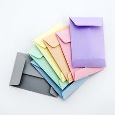 Envelope template (C6, C7 & C8). String-tie and standard designs