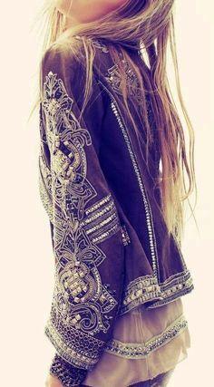 Embellished jackets..