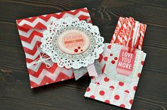 Valentine Treat Bags + VIDEO! - Two Peas in a Bucket