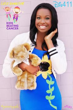 Coco Jones' Kids Beating Cancer Photos May 2014