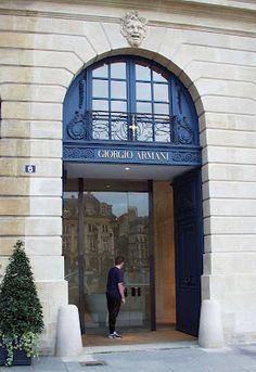 Giorgio Armani - Paris Paris Shopping, Giorgio Armani, Places, Projects, Fotografia, Pictures, Log Projects, Blue Prints, Lugares