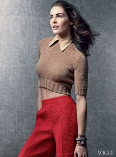 Hilary Rhoda / Photographed by Craig McDean, Vogue, April 2013