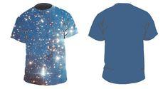 Errai  Men's Galaxy Tshirt by galaxygarments on Etsy, $60.00