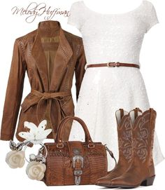 """Country Chic 2"" by mhuffman1282 ❤ liked on Polyvore"