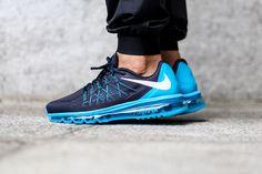 """Nike Air Max 2015 """"Dark Obsidian/Blue Lagoon"""""""