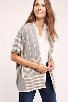 Hudsen Structured Cardigan - anthropologie.com