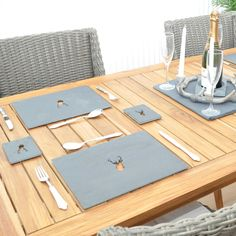 Stag Slate Placemats