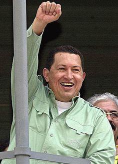 Hugo Chávez (1954-2013) político y militar venezolano, Presidente de Venezuela.