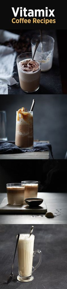 Try these delicious coffee recipes from Vitamix!