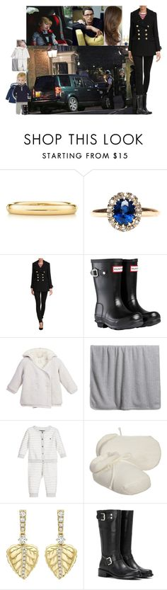 """""""Arriving back at Clarence House late in the evening and being greeted by Henry"""" by lady-maud ❤ liked on Polyvore featuring Elsa Peretti, Burberry, Hunter and Calvin Klein Jeans"""