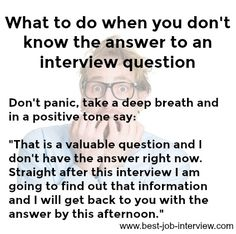 Job Interview Answers to Tough Interview Questions Job Interview Answers, Tough Interview Questions, Job Interview Preparation, Job Interviews, Job Resume, Resume Tips, Job Hunting Tips, Job Help, Job Info