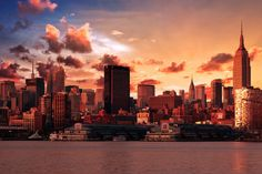 Sunrise on NYC