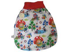 Strampelsäcke - Babyschlafsack Strampelsack Pilze - ein Designerstück von me-kinderkleidung bei DaWanda