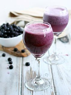 Blueberry Cream Slushie | 21 Wine Slushies To Give You Life This Summer