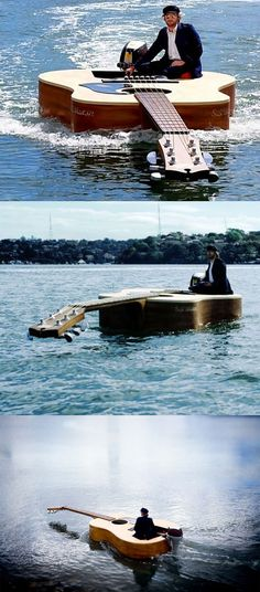 Boat for the musically inclined...