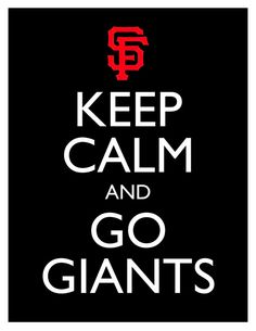 Keep Calm and Go Giants  8x10 Picture  Wall by HeSewMadeThat, $7.90